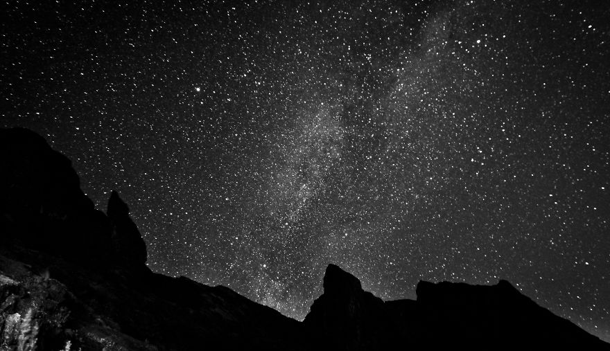 Milky Way Over Donkey's Ears Peak