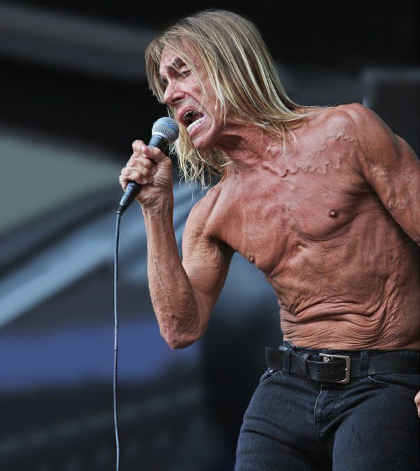 Iggy Pop's Torso Looks Sad