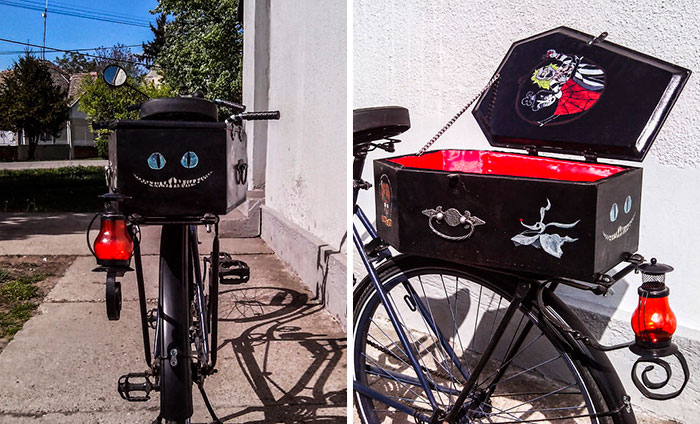 Our DIY Tim Burton Tandem Bicycle Inspired By His Movies