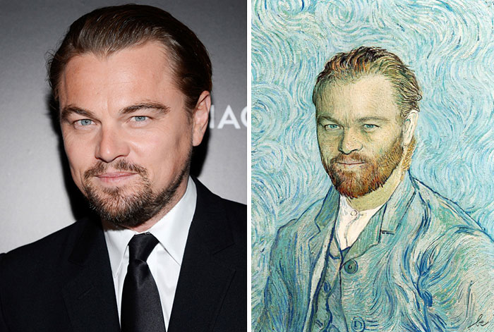 Historical Paintings Merged With Modern Celebrities By Bénédicte Lacroix