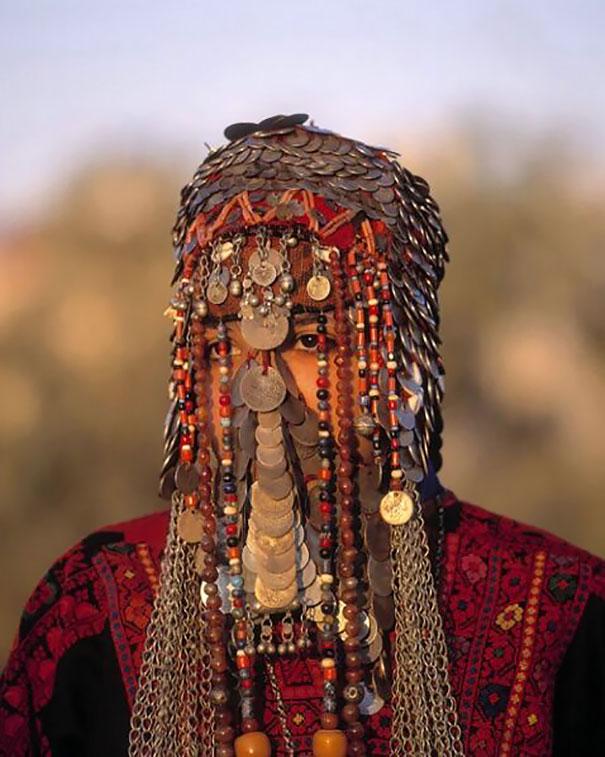 Bedouin Wedding Veil In Israel