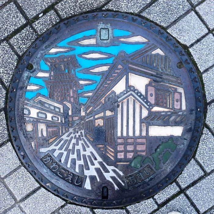 I Found Some Beautiful Japanese Manhole Covers During My Last Trip There