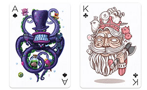 55 Famous Designers And Illustrators Team Up To Create Unique Playing Cards