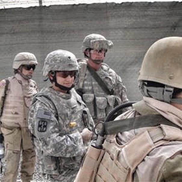 美国军队老兵火车 - 非洲 - 护林员,vetpaws-kinessa  - 约翰逊19