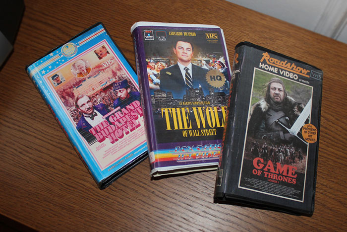 I Created VHS Versions Of The Most Popular TV Shows And Movies