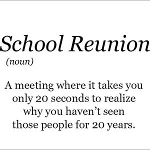 The Real Meaning Of School Reunions