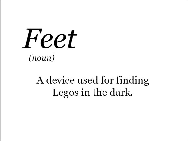 The Real Meaning Of Feet