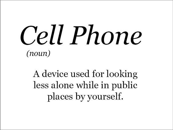The Real Meaning Of Cell Phones