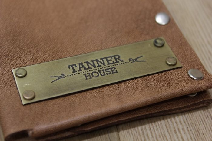 Tannerhouse Personalized Leather Wallet.