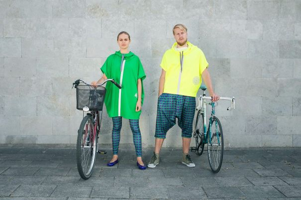 Stylish Reflective Raincoats And Vests By Lt Identity
