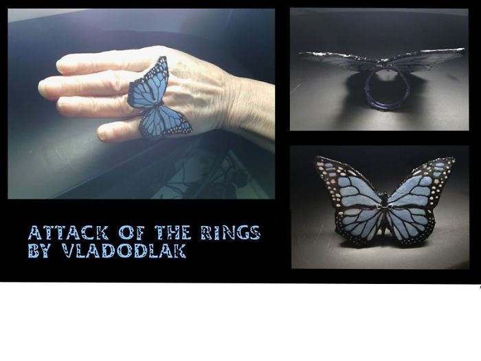 Attack Of The Butterfly Rings