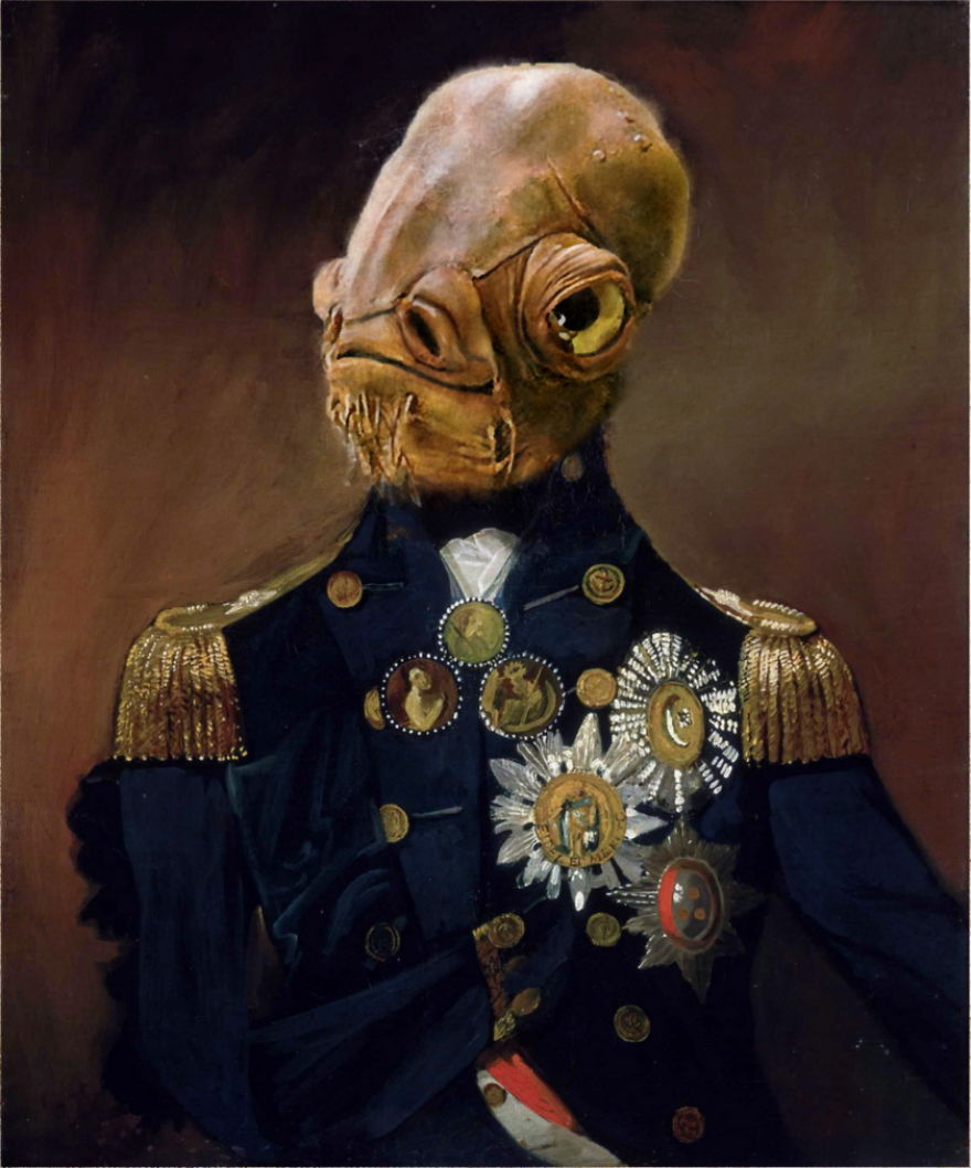 21 More Famous Paintings Reimagined With Star Wars