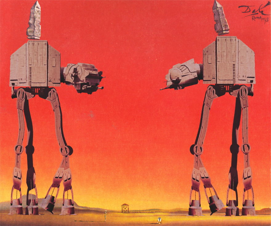 Famous Robot Paintings