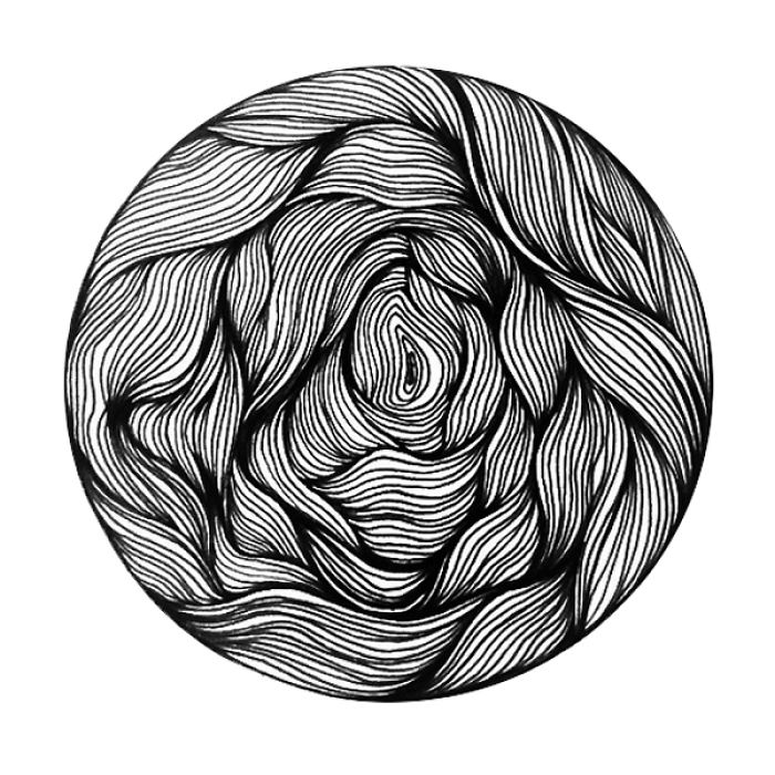 30 Circles In 30 Days: My Doodles In Different Patterns
