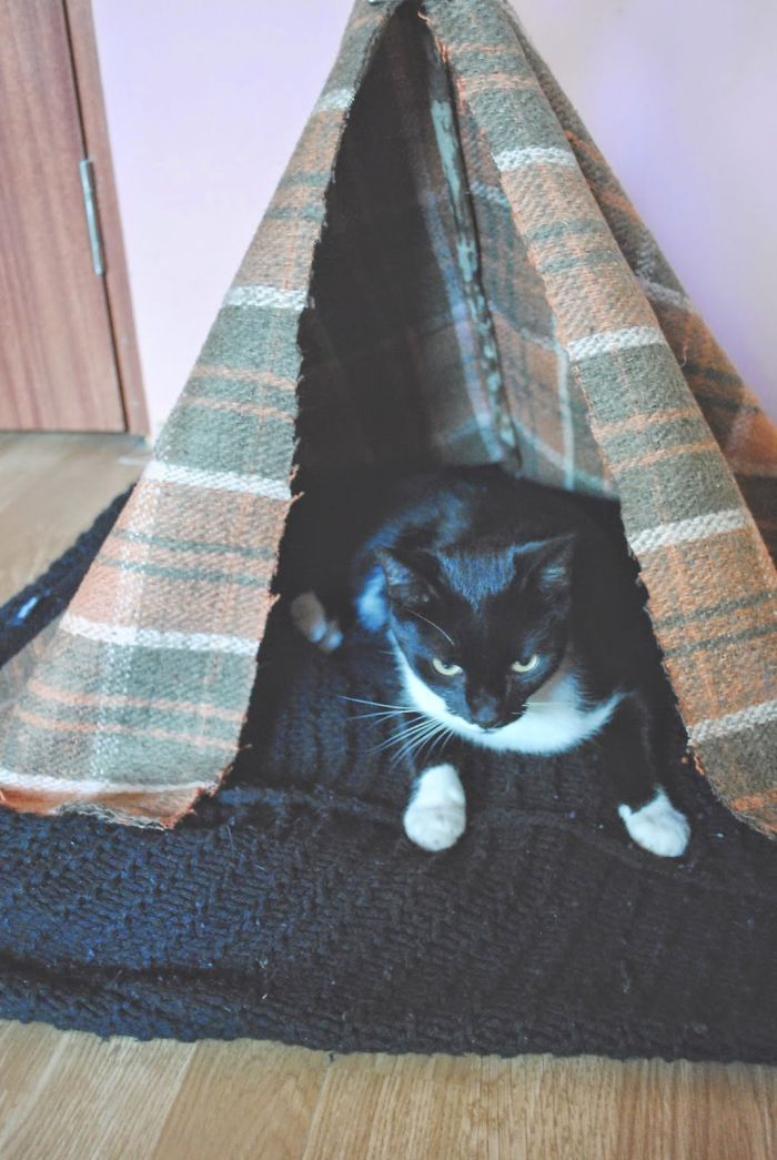 How To Make A Tipi For Any Pet