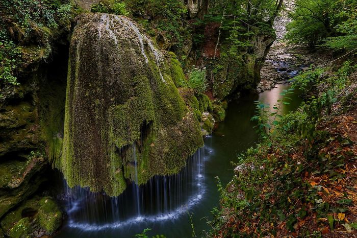 Bigar Waterfall, Romania.