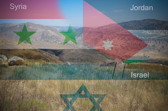 Syria – Jordan – Israel @ Golan Heights