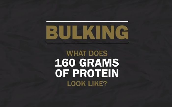 A Visual Comparison Of Protein In Food