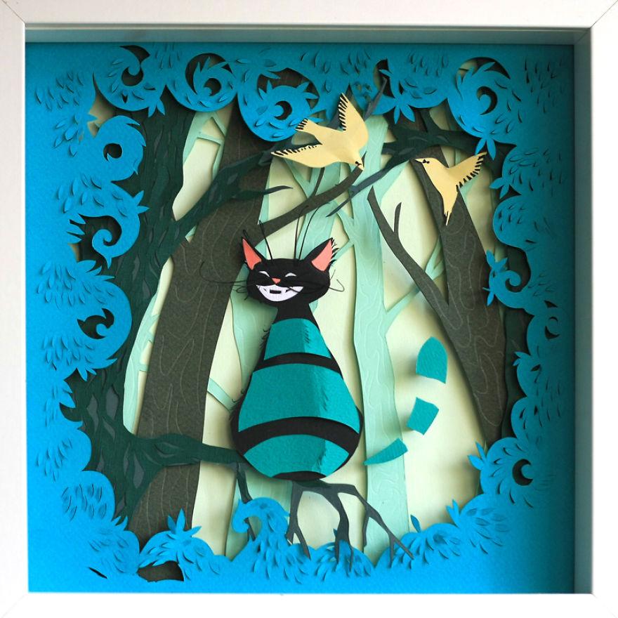 My Paper Adventures With Alice In Wonderland