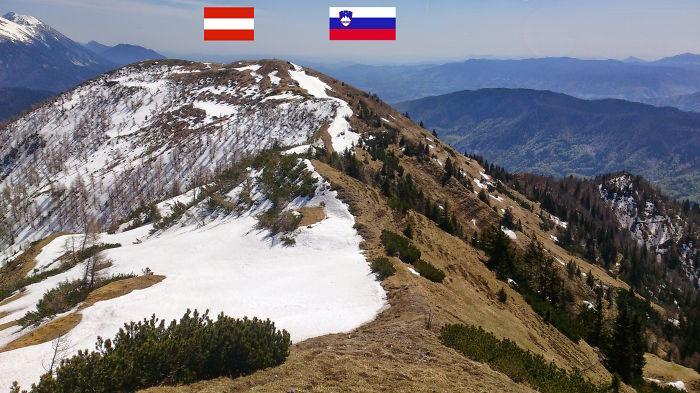 Austria - Slovenia Alpine Border