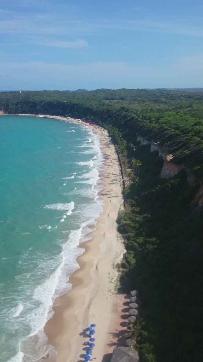 From A Paragliding On North Cost In Brazil – Natal/rn