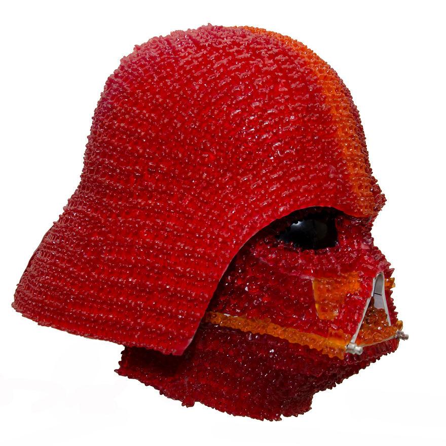 Darth Gummy: I Designed Vader's Helmet With 1,000+ Gummy Bears