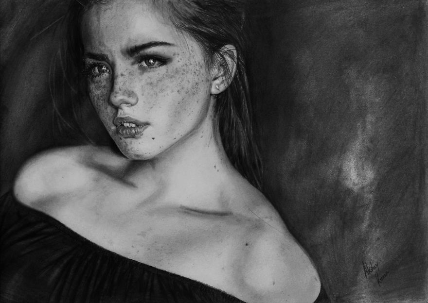 Graphite Rush: My Photo-Realistic Pictures Drawn With Graphite Pencils