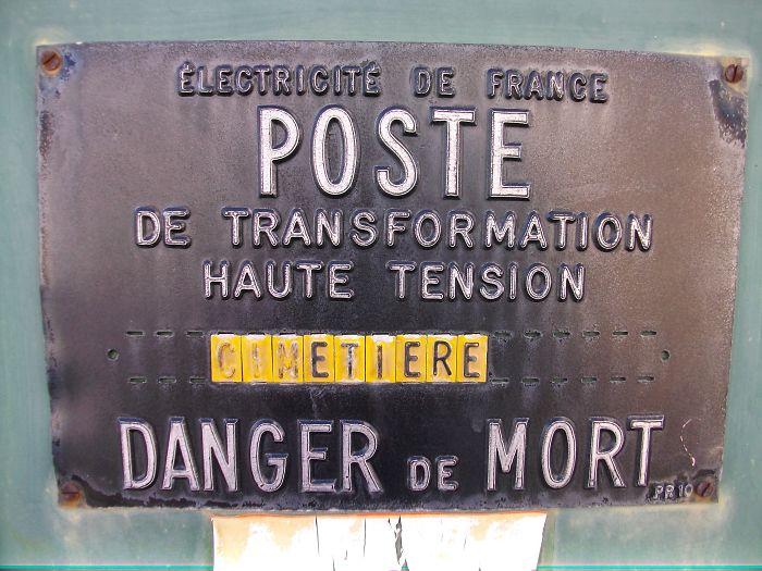 High Voltage Converter Station – Cemetery – Mortal Danger