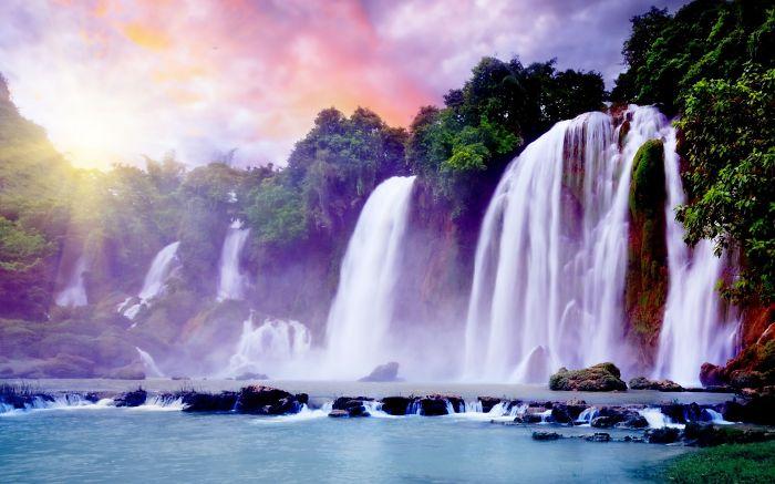 Thagman Falls In Indonesia