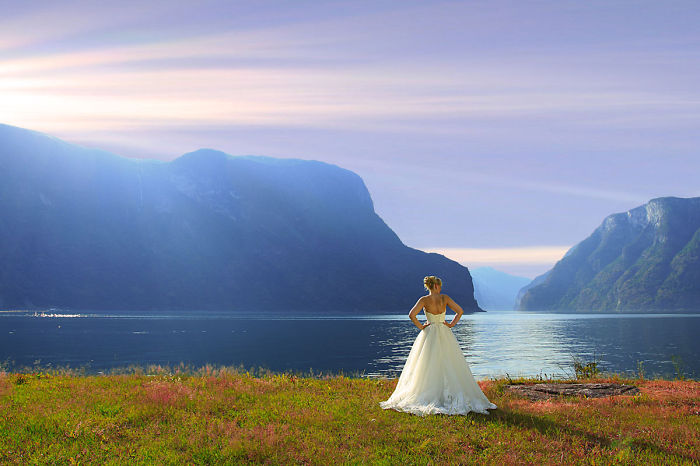 These Photos Of Brides Show That Norway Is The Dream Wedding Location