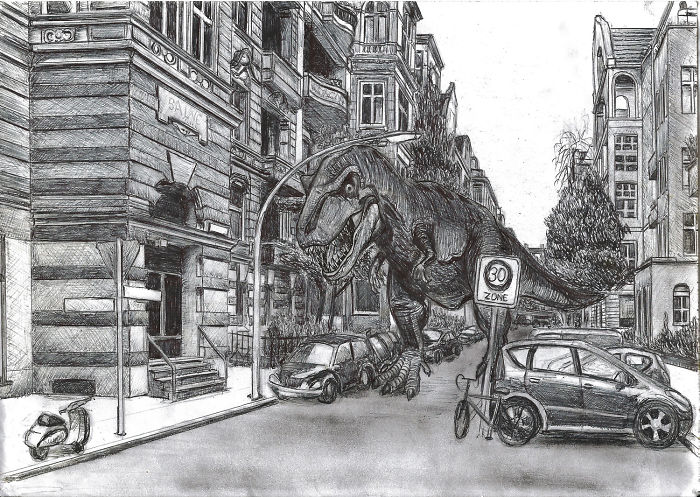 I Draw Postcards Of Daily Life In Berlin