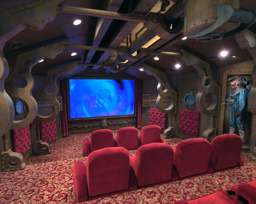 17 Of The Most Amazing Home Movie Theaters You Have Ever