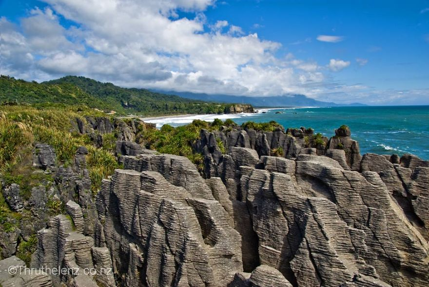 Pancake Rocks, New Zealand