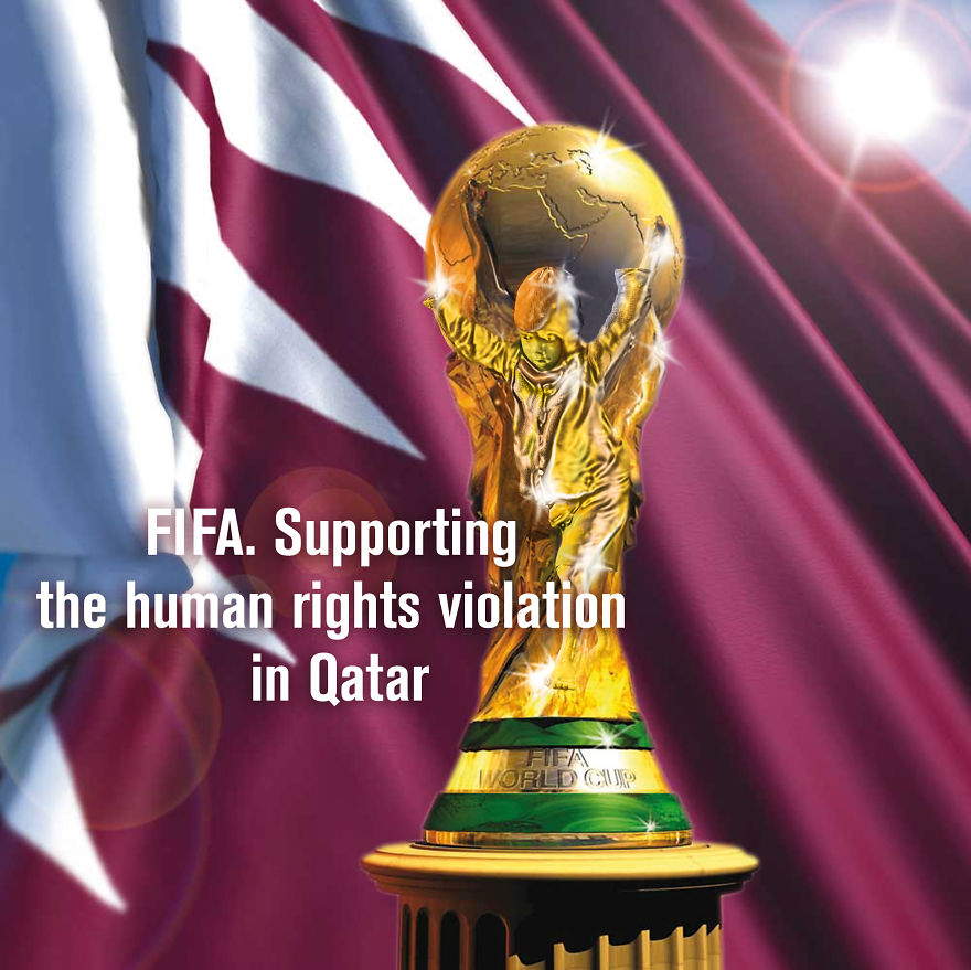 Fifa. Supporting The Human Rights Violation In Qatar.