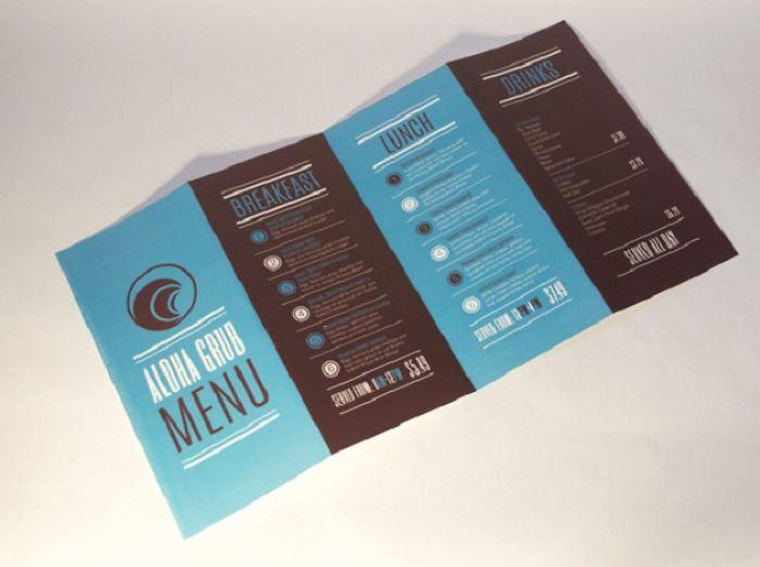 Restaurant Menu Card Designs