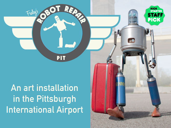 Robot Repair – The Pittsburgh International Airport Branch