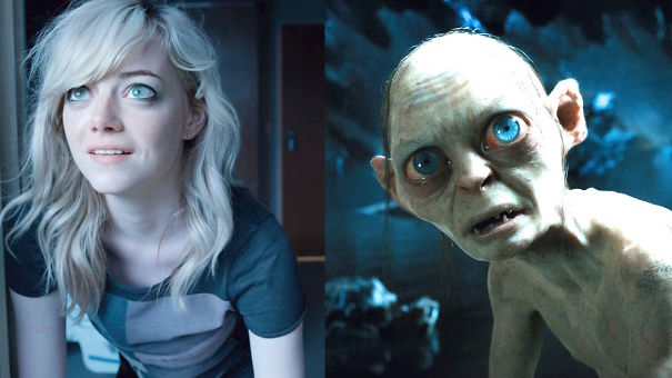 Emma Stone And Smeagol (smemma)
