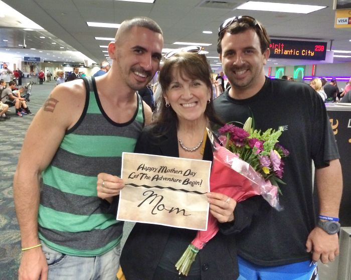Sons Take Mother On Epic Destination Unknown For Mother's Day