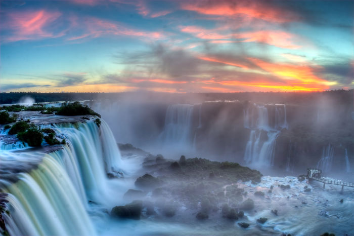 Iguazu Falls (border Between Argentina-brazil)