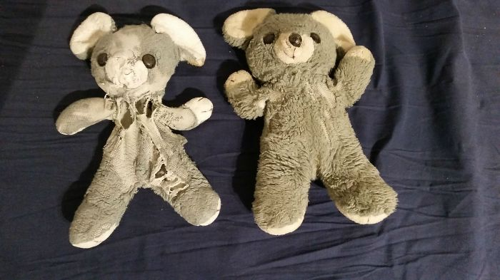 Mine And My Twin Brother's Teddy Bears From 1992. Bare In Mind That One Of Us Is Disabled From Birth And In A Wheelchair To This Day.