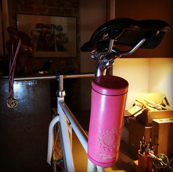 """Leather """"bicycletube"""" Boxtools Storage. #marsandkent"""