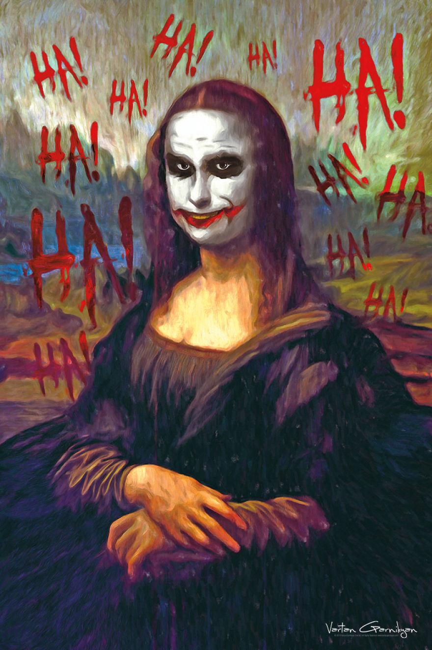 I Transform Famous Paintings Into Batman Pop Art
