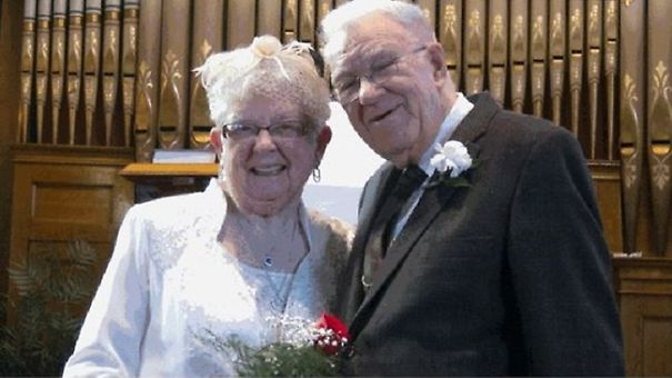 Couple Marries 75 Years After Their First Kiss