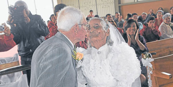 After 15 Years Of Dating, 90-Year-Old Couple Gets Married