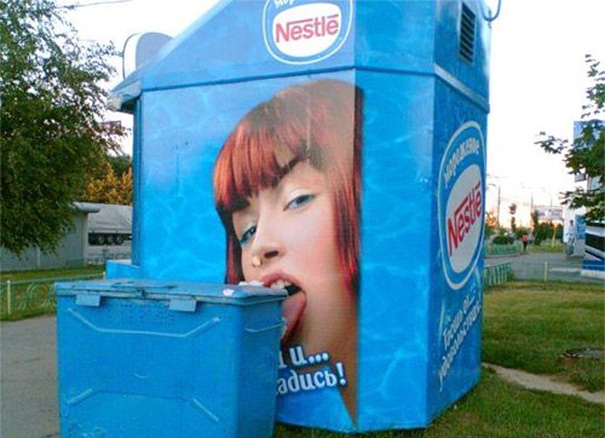 Nestle Dumpster Fail