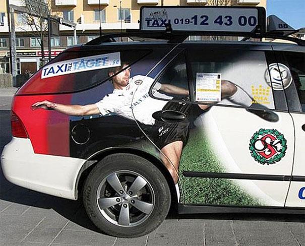 Taxi Door Handle Fail