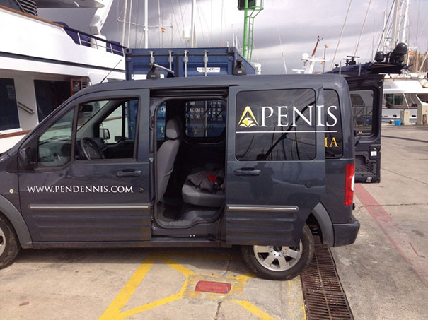 Pendennis: Someone Didn't Think This Through