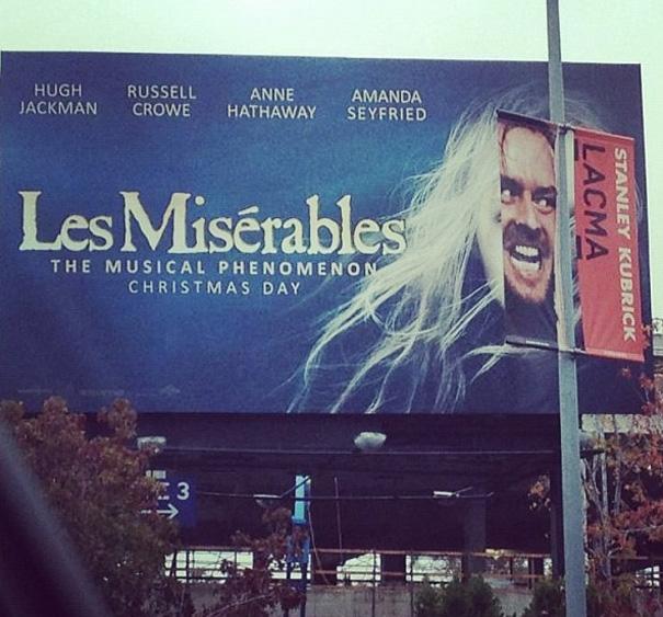 Les Miserables Vs The Shining
