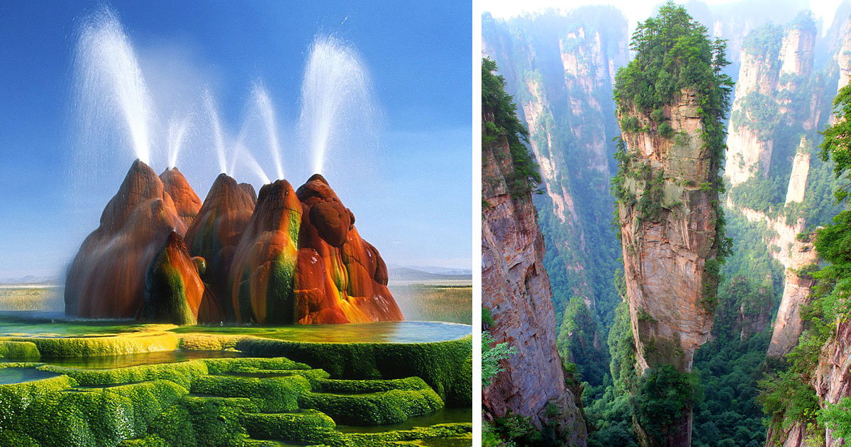175 Unbelievable Places That Look Like They're From Another Planet