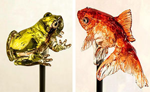 Realistic Animal Lollipops By Young Japanese Master Keep 1200-Year-Old Tradition Alive